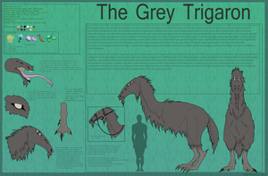 The Grey Trigaron by blueharuka