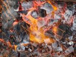 Charcoals and fire particles by Ehsan-m