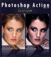 Photoshop Action Ver. 1.6 by General1991