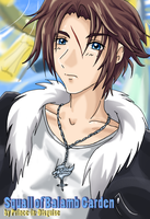 Squall Leonhart of Garden by Prince-in-Disguise