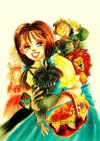 Dorothy and Pals from Oz by detectiveblue