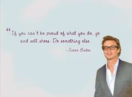 Simon Baker wallpaper. by chocolateymenta
