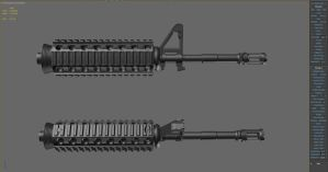 M4a1 wip2 by Neon206