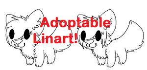 Adoptable Lineart! by RegallyFlawed