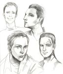 Chakotay and Tom Paris by massive-destruction