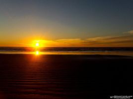 Waves of Sand Sunset by OneofakindKnight