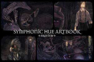 Symphonic Hue Art Book : Preview + Pre-order by Tangmaelon