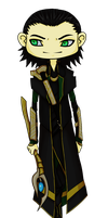 Impish - Avengers Loki by the-attic-keeper