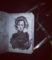 day 12: Edward Scissorhands. by Frankienstein