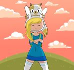 Fionna and Cake For The Win by jameselmsart