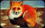 Red fox by OneColoredLily