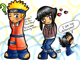Naruto And Hinata-Colour by Buddha-Cat