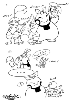 Started a Nuzlocke by TamarinFrog
