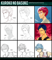 { knb } switcharound meme by yorunaka