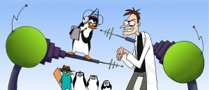 Curse you Kowalski the penguin by maiwey