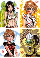 Dead AT 17 Sketch Cards 03 by FrankRapoza