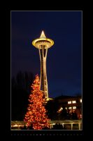 Merry Xmas from Seattle by UrbanRural-Photo
