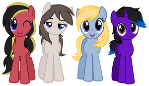 My Little Ponies by Astanine