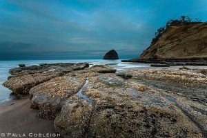 Cape Kiwanda Sunrise by La-Vita-a-Bella