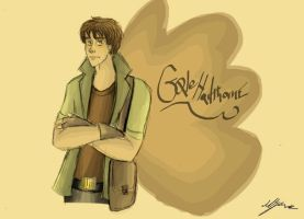 THG: Gale Hawthorne: Brown by xxIgnisxx