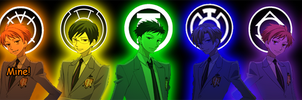 Ouran Emotional Spectrum by KingdomHeartsFrantic