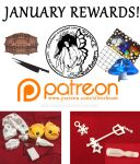 January Patreon Rewards by silverbeam