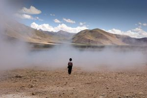 Tibetan Boy at Yangpachen by themobius
