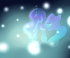Dream Alicorn by Bast13