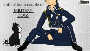 FMA Military dogs. by NayaChicken