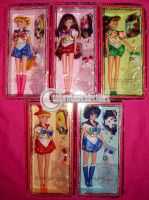 Sailor Moon Excellent Team Doll Set by onsenmochi