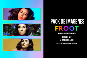 MARINA AND THE DIAMONDS - FROOT PACK by LittleDr3ams