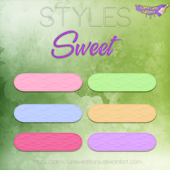 STYLES: Sweet~ by CAMI-CURLES-EDITIONS