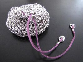 Chainmail Dice Bag by CharmingChains