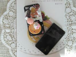 Big Biscuit Handy Case Black by AngelicLight100