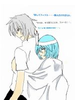Im sorry kaworu did i scare you so much?-rei by kaworuloverei