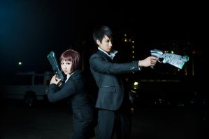 Psycho Pass - 02 by kitsunesqueak