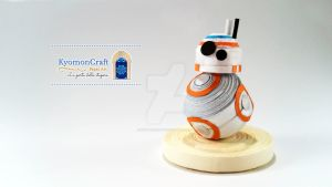 Quilling Star Wars - The Force Awakens by kyomoncraft