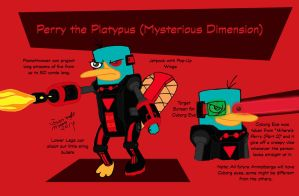 Perry the Platypus (Mysterious Dimension) by RedJoey1992