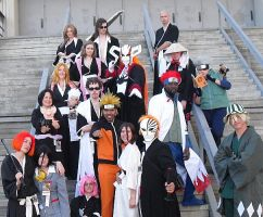 Naruto and Bleach Group Shot by R-Legend