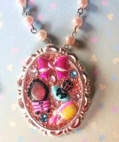 Pretty Things Resin Necklace by prheat