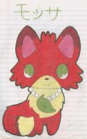 OC Jewelpet Mossa by Alice-of-Africa