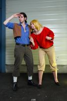 Tulio and Miguel Cosplay by Snakethoot