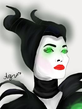 Maleficent (edited) by DEATH-OF-LUNA-14
