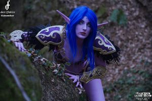 Night Elf by FraGatsu