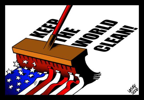 Keep the World Clean by Latuff2