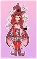 Witchsona Card Witch by mikurose