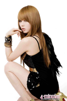 Hyuna png -4Minute by Sellscarol