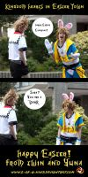 Easter with Sora and Roxas by 2-of-a-kind