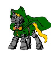 My Little Avengers: Villains - Master Doom by Kenichi-Shinigami