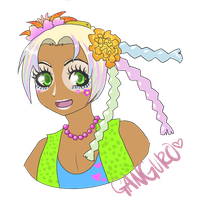 Ganguro Lior by Helix-Wing
